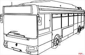 Tải Bộ Tranh Tô Màu Xe Buýt Đẹp Nhất Cho Bé