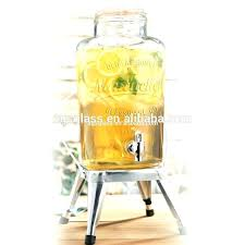 glass drink dispensers drink dispenser for party 1 gallon glass beverage dispenser party whisky wine juice