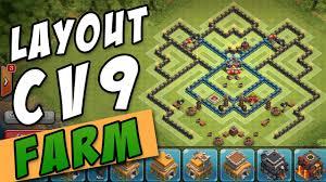 Melhor Layout Cv 9 Farm Th9 Best Farming Base Clash Of Clans
