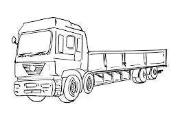 Coloriage De Camion De Chantier Dessin De Chantier Imprimer