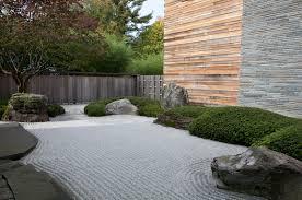 Superb Japanese Inspired Sand Ocean Garden Raked Part 5
