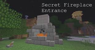 Minecraft How To Make A Redstone Fireplace  YouTubeFireplace In Minecraft