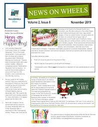 November 2019 Volume 2, Issue 8