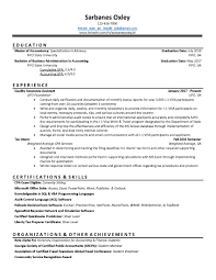 First Auditing Job Resume Critique It Please Accounting