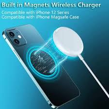 Đế sạc nam châm không dây 15W cho Iphone 12 11 Pro Max X Xs Max Xr 8 Plus -  Đế sạc không dây