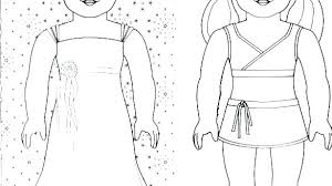 Coloring Pages American Girl Girl Coloring Pages Kit Girl Coloring