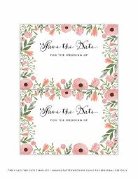 save the date template free download save the date templates template free download photo for