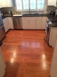 Oak Floors In Kitchen Bruce Plano Marsh Oak Hardwood Flooring All About Flooring Designs