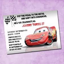 lightning mcqueen birthday invitation lightning mcqueen birthday invitation 🔎zoom