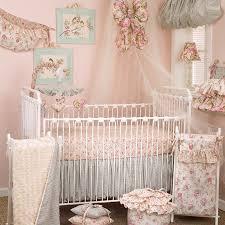 tea party 7pc crib bedding set