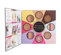 the little black book of bronzers palette de maquillage de too faced sur makeup matters