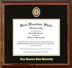 bearkat marketplace office of alumni relations sam houston  diploma frames