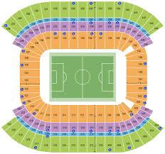 Soccer Seating Chart Interactive Seating Chart Seat Views