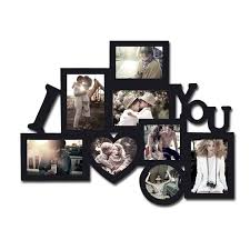 laser cuts ltd wooden collage frames i love you frame white multi wall long large silver family double wood for multiple