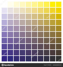Cmyk Color Chart Use Prepress Printing Used Pick Color