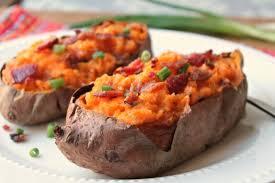 twice baked sweet potatoes air fryer