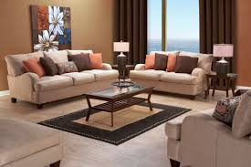 Orange And Brown Living Room Decor Transform Your Home With Fabulous Fall Daccor Gardner White