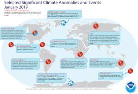 Global Climate Report January 2019 State Of The Climate