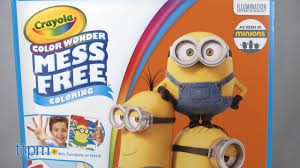 Despicable Me Color Wonder Coloring Pages From Crayola Youtube