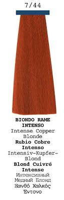 Copper Red Hair Color Chart Color Elgon