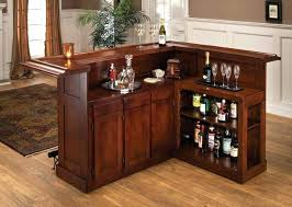 wooden mini bar wood small design cabinet
