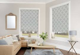 fabric blinds. Exellent Blinds Designer Fabric Saxonwold Roller Blind With Open Cassette On Blinds G