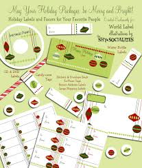 Holiday Address Label Templates Holiday Labels Holiday Label Templates Free Printable