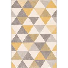 well woven mystic alvin gold 8 ft x 10 ft modern geometric area rug