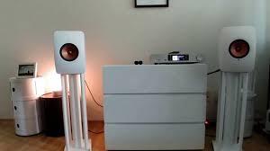 kef ls50 stands. kef ls50 wireless sound test(edm) kef ls50 stands