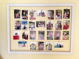 diy photo collage clothespin frame 1024x768 13 diy picture