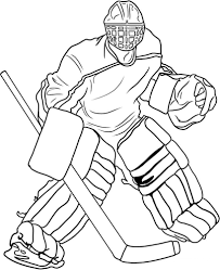 Small Picture Coloring Pages Free Printable Hockey Coloring Pages For Kids