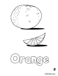 Small Picture Orange coloring pages Hellokidscom