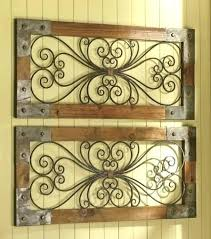wood and iron wall decor rustic wood and metal wall art rustic iron wall art prepossessing
