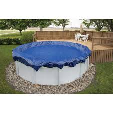 winter pool covers. Modren Covers Round Royal Blue Above Ground Winter Pool Cover To Covers N