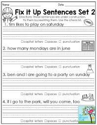Math. first grade language worksheets: Practice Cursive Writing ...