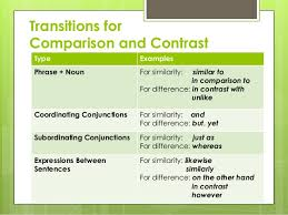 comparison contrast essay 13
