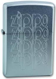"<b>Зажигалка Zippo</b> ""<b>Zippo Logo</b>"", цвет: серебристый, 3,6 х 1,2 х 5,6 ..."