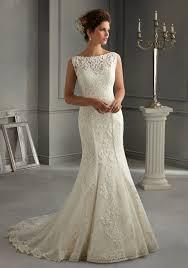 5262 Morilee Bridal Patterned Embroidery Design On Net Over Satin