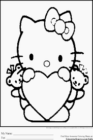 All hello kitty coloring pages at here. Hello Kitty Coloring Pages Pdf Coloring Home