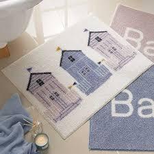 beach themed bath rugs marvelous mogams home design ideas 3