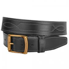 tory leather wide equestrian belt