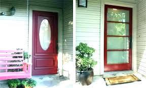 front door with glass s front door glass insert kit
