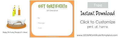Make Your Own Gift Certificate Templates Free Create Your Own Gift Certificate Template Free Customize Print A