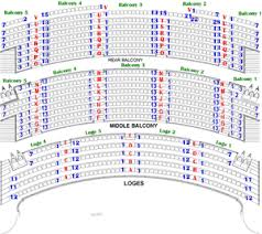Civic Theater Seating Chart Seating Charts Akron Civic Theatre Seating Charts Chart