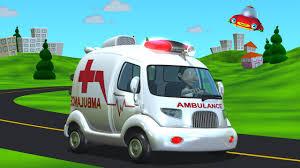 Resultado de imagen de imagenes de ambulancia en caricatura