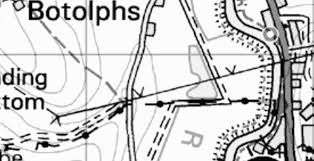 Plan a283 a2037 to a27 showing location of crash data 3 years to 31 may 2010
