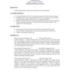 Exelent Restaurant Management Resume Keywords Photos Documentation