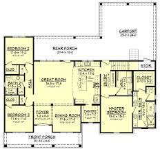 144 Square Feet European Style House Plan 3 Beds 200 Baths 1900 Sq Ft Plan 430 144