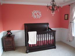 baby room furniture ideas. coral baby girl nursery with black crib hubs room furniture ideas n