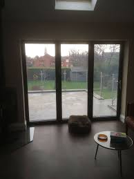 this is great for the winter months as the bi fold function is optional whist maintaining the coveted outdoor view effect that bi fold doors are so popular